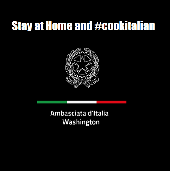 Stay at home and #cookitalian