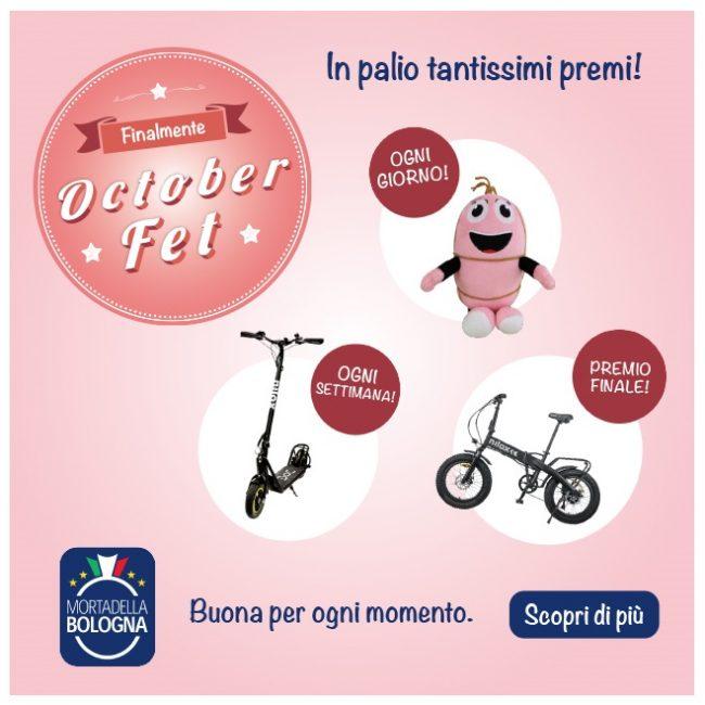 La Mortadella Bologna IGP presenta 'October Fet'